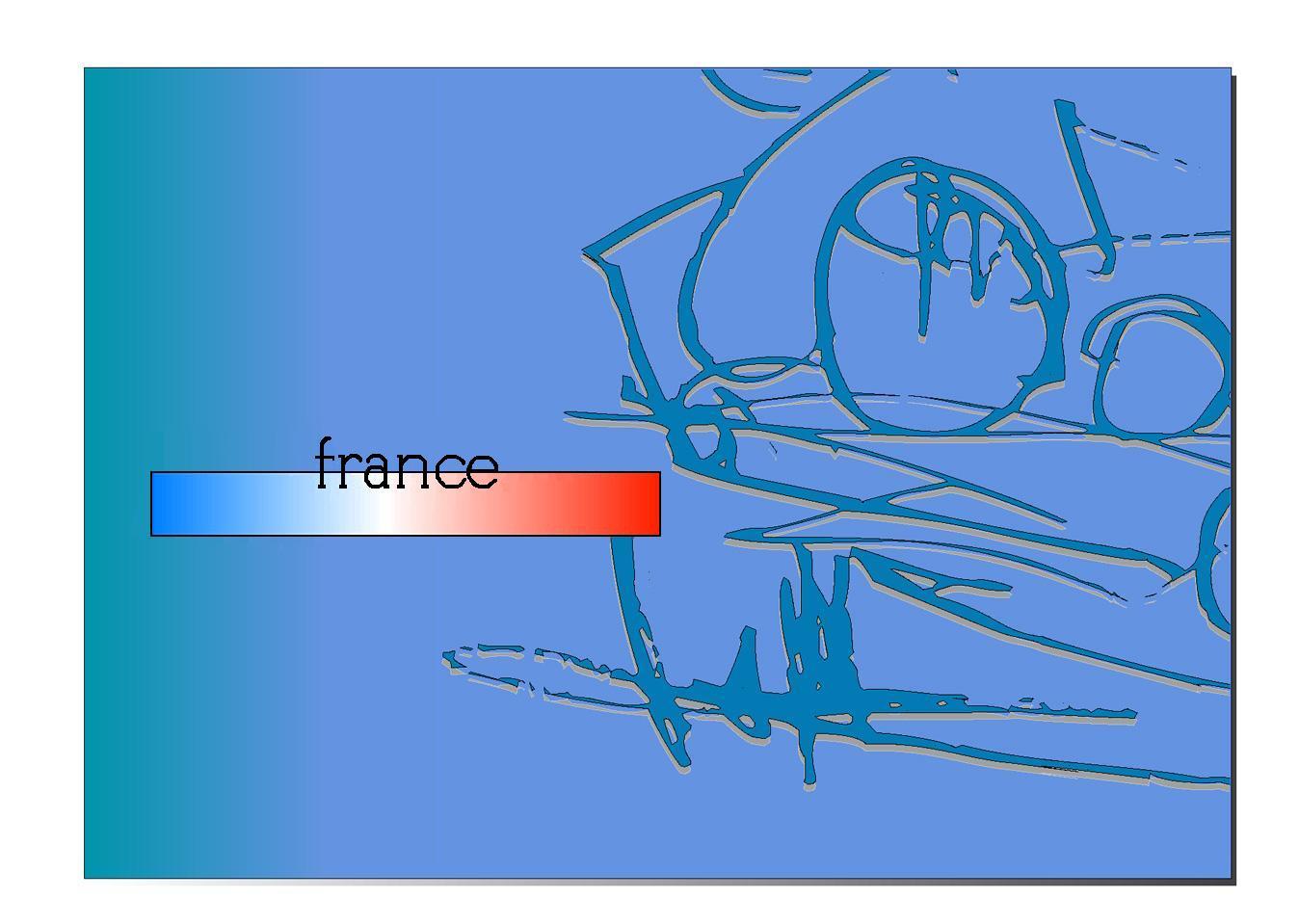 フランス車 イラスト